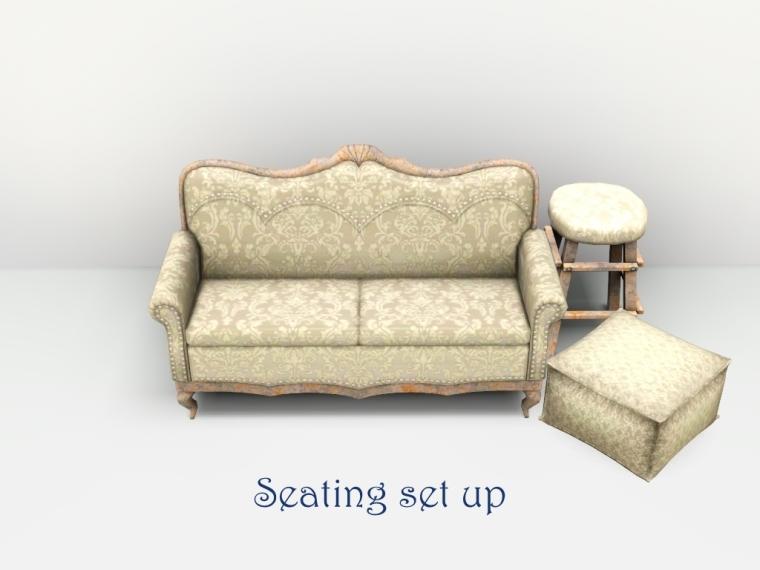 seating set up