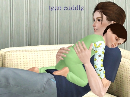 teen cuddle