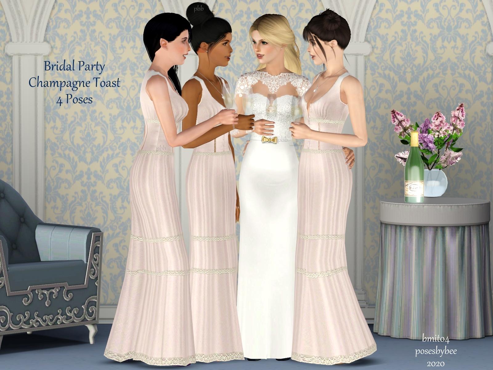 Champagne Toast 1-4